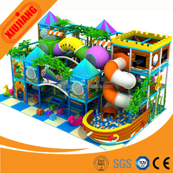 Factory Direct Sale, Field Assembly.CE Standard,Unique design - Indoor playground from Xiujiang
