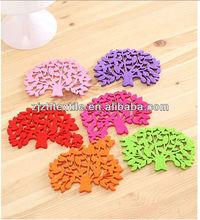 decorative felt fabric flower felt fabric /art felt material with DIY style