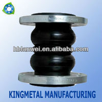 Flexible EPDM Rubber bellow Joint with DIN flange