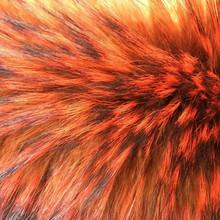 dye raccoon fur
