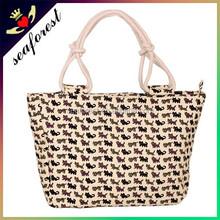 wholesale classical cotton canvas tote bag