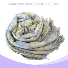 Wholesale bright color 100% cashmere scarf