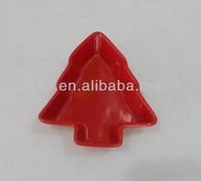 souvenir ceramic Christmas tree plate