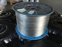 small steel wire rope of galvanied