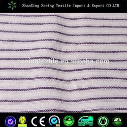chinese hospital textile cotton fabric sateen stripe bedding fabric