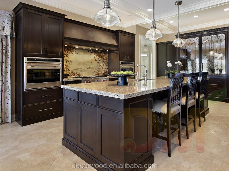 Porte shaker d 39 armoires de cuisine espresso cabinet - Couleur de porte d armoire de cuisine ...