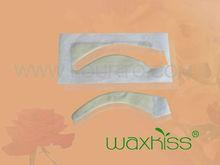 Amostra grátis ready to use non woven papel enceramento tiras para o corpo rosto sobrancelha