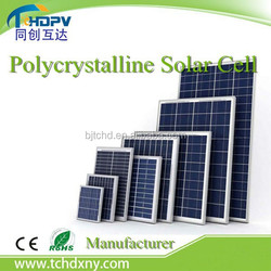 China Solar water pump system , Solar lighting system use Polycrystalline Solar cell / 100W 200W 250W 300W Solar panel