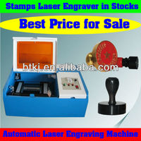 Easy Control Portable Laser Machine to Make Rubber Stamps Connect with Computer,86-13137723587