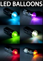 Small Battery Operated Color Changing LED lights Blinking MIcro Balloon Party Light