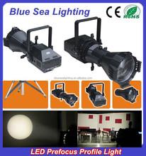 200WLED white/4IN1 prefocus profile spot cheap spotlights disco