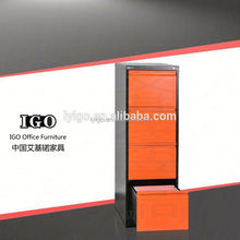 metal furniture sliding glass door display cabinet office plastic 4 drawers file cabinet with lock