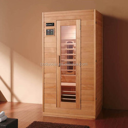 Solid Wood 2 Persons Far Infared Sauna House (GH-T1605)