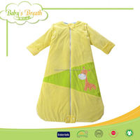 BSB203 thick warm wearable sleeping bag for cold weather, outdoor sleeping bag children