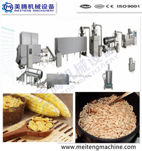 Automatic industrial snack food extruder