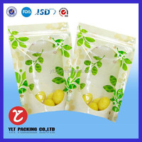 fruit package bag / plastic bag for fresh fruit /food grade bag