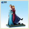 Hot Movie Frozen Figure Anna Elsa doll resin figure for sale