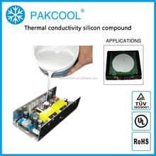 ISO 9001 heat conductivity silicon Sealing glue encapsulant for Fiber Laser