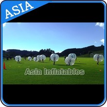 2015 popular Bubble ball sale in asia market, 1.00m TPU bubble soccer ball on sale this summer