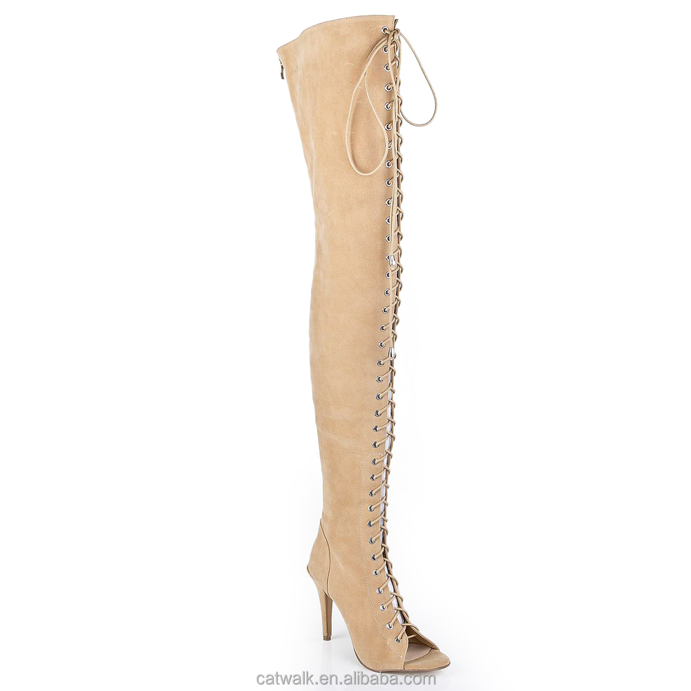 knee high boots with zipper on back images
