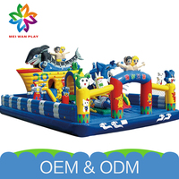 High Quality Amusing Kids Amusement Park Commercial Safe Customized Inflatable Bouncer Bounce House
