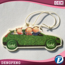 Europe Hot selling high quality cheap hanging car paper air freshener