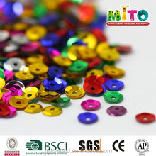 MTLP-BS041 8mm colorful loose sequins wholesale for child diy