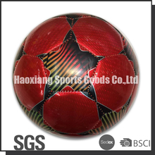 red star machine stitched tpu laser football