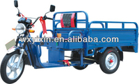 Electrical freight tricycle for cargo carrying