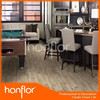 LVT vinyl flooring with wooden grain and waterproof for basement garage and porch