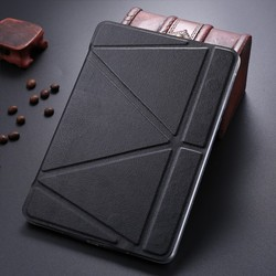 LETSVIEW 2015 New Coming Genuine Fancy PU Flip Leather Case with Stand Soft Flexible Protective Back Cove Shell for Ipad Mini