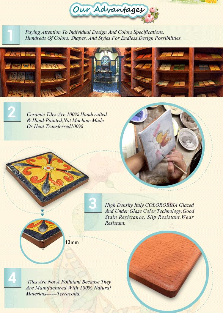 Decoratieve stijl selecties 10x10 golvend 3d keuken keramische ...
