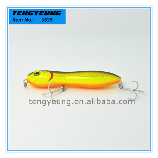 Multi color top water floating eco friendly plastic for Plastic fishing lure molds
