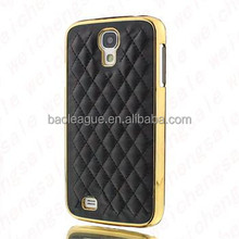 Luxury PU Leather Case for Apple iPhone 4 4S / 5 5S/6 4.7 5.5 Soft Grid Pattern Back Skin Cover