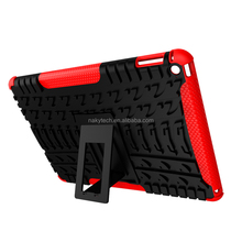 Character hybrid pc+tpu case for ipad air 2 for iphone 6