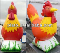 giant inflatable rooster for advrertising