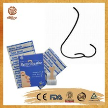 China manufacture wholesale Breathe Right nasal strips to stop snoring