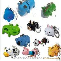 S031 Animals Retractable cute color small ballpoint pen