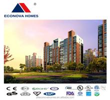 Econova solar panel system multi-storey china prefabricated homes for multi-function