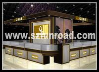 Funroad wedding and luxury jewelry cabinet kiosks for mall jewelry shop sale