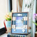 zakka mediterráneo accesorios para el hogar creativo marcos artesanía casa de madera hermosa hermosa marcos de fotos