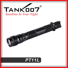 Military quality led hunting flashlights 350LM and 200m distance led tactical flashlights from TANK007 manufacturer