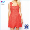 Dongguan Yihao Ladies 2015 Summer New Style Girls Red Structured Lace Prom Dress Fashion Casual Dresses For Women