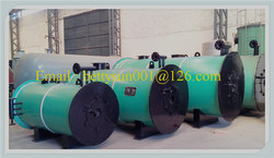 high quality horizontal oil and gas fired thermal oil boiler