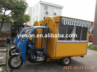 YS-GT175A High Quality Motorcycle Food Cart for sale