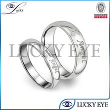 2014 nueva venta al por mayor anillos de pedida de acero inoxidable de diseño de moda