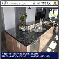 High quality bluestone countertop/ blue pearl granite kitchen countertop