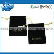 plain logo printing velvet pouch wholesale, Trade Assurance Supplier