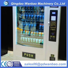 Coin operated Automatic drink and snack vending machine with refrigeration
