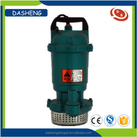QDX series 220v submersible water centrifugal pumps for irrigation